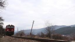 Mounatain train Archivo