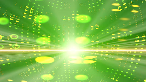 Green beam Animation
