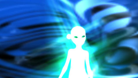 Digital Animation of an Alien Animation