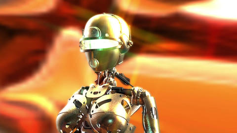 Digital Animation of a Fembot Animation