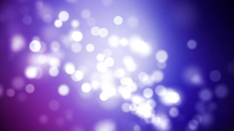 Looping Dark Purple Particle Background Animation