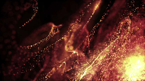 Particles dust abstract light motion titles cinematic background loop 42 Animation