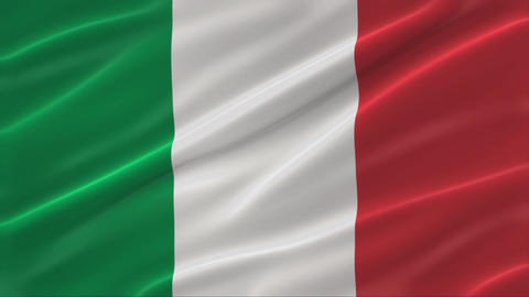 Flag of Italy 4K Animation