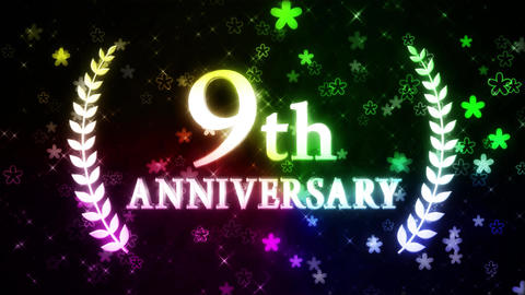 9th anniversary Videos animados