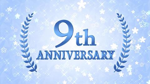 9th anniversary Animation