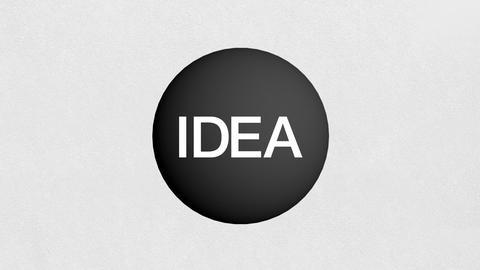 Brainstorming, Idea grow up, makes team-work(included Alpha) Animation