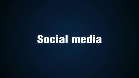 Blog, Follow, Communication, Message, Online, animation 'Social media' CG動画