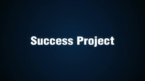 Challenge, Innovation, Creative, Adventure, Improvement, 'Success Project' Animation