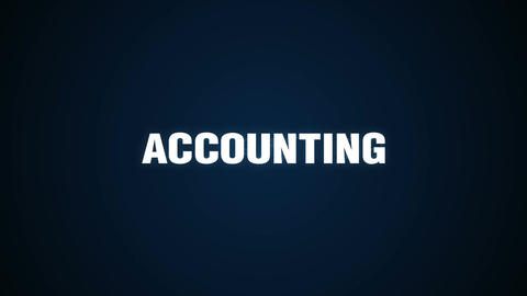 Management, Financial, Investors, Information, Creative, Text animation 'ACCOUNT Animation