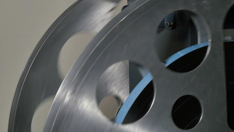 35mm Film Cinema Reels Projecting Live Action