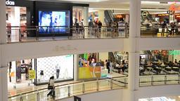 Suria KLCC shopping mall Filmmaterial