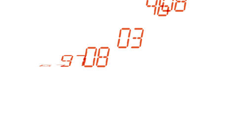4k numbers scrolling across the screen,finance digital tech data background Footage