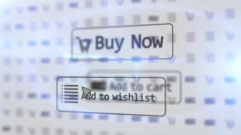 Buy Now, Add to Wishlist and Add to Cart buttons Animation