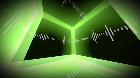 Equalizer Room VJ Loops Animation