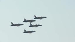 Al Fursan Aerobatic Team Footage