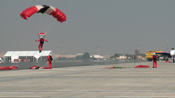 The Red Devils and Saudi Falcons Parachute Team Footage