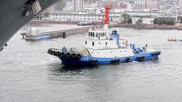 USS Bonhomme Richard Departs Sasebo Footage