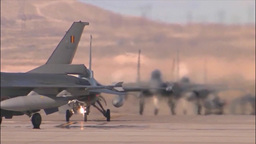 Fighter Jets at Red Flag Footage