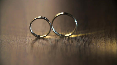 Wedding Rings Rolling Live Action