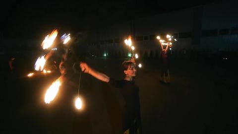Amazing Fire Show ビデオ