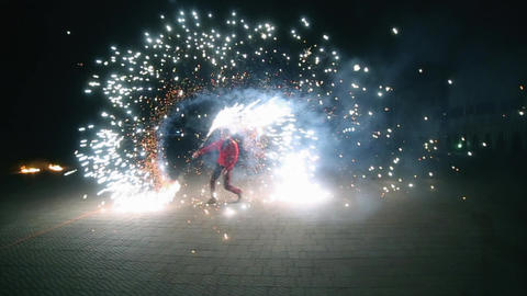 Amazing Fire Show Image