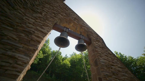 Two Bells in Tower Footage