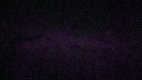 1080p Loopable: Stylized Starry Sky of Twinkling Stars Background Footage