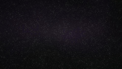 1080p Loopable: Dense Realistic Starry Sky With Slowly Twinkling Stars Footage