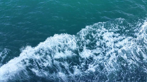 Video of waves on the ocean Footage