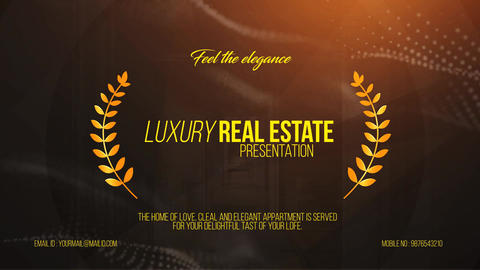 Luxury Real Estate Presentation After Effects Template