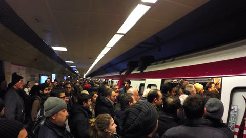 Metro train services disrupted today during rush hours after a technical snag hi