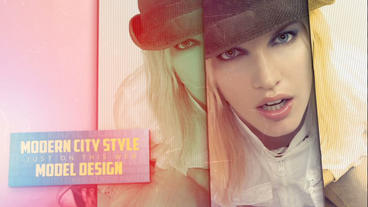 Fashion Rectangle Slide After Effects Template