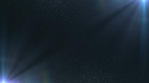 Abstract Space Particles Background Animation