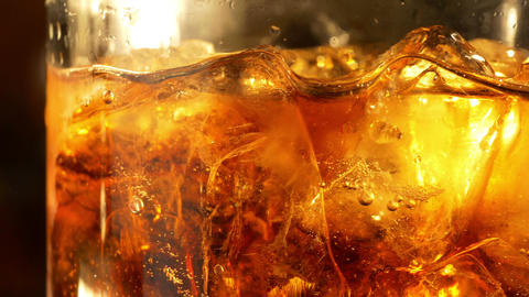 Two videos of cold drink in 4K Footage