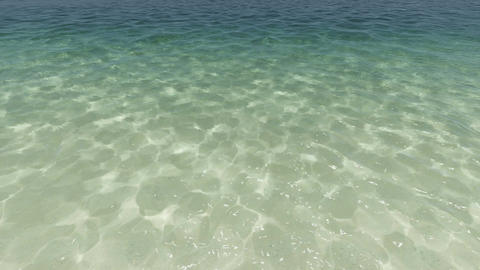 Sea Coast Clear Water Animation