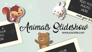 Animals Slideshow After Effects Template