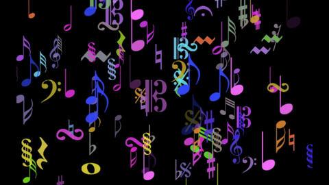 MUSIC NOTES Filmmaterial
