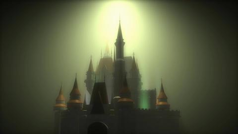 Fantasy magical castle GIF
