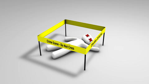 Conceptual animation crime scene Animation