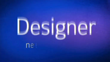 Typographic Light After Effects Project