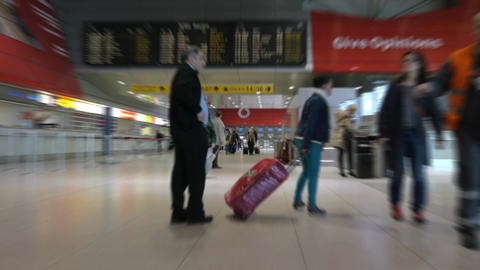 Video of airport terminal in 4K Footage