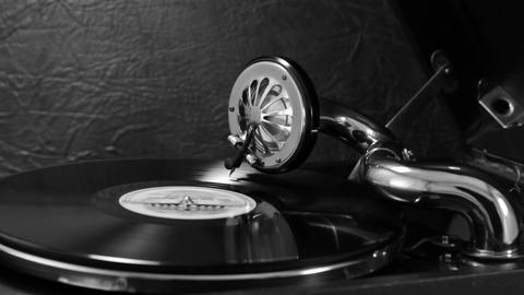 Listening To Old Records On The Gramophone 5 GIF