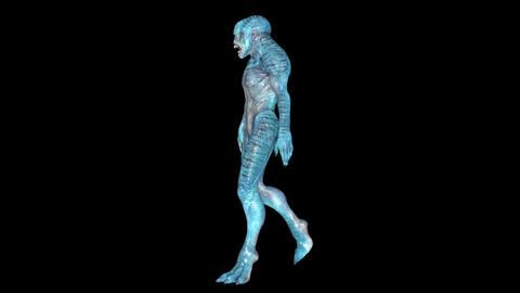 Monster Walk Animation