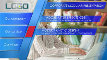 Corporate modern presentation After Effects Project