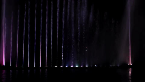 Laser Musical Fountain Roshen 2 Footage