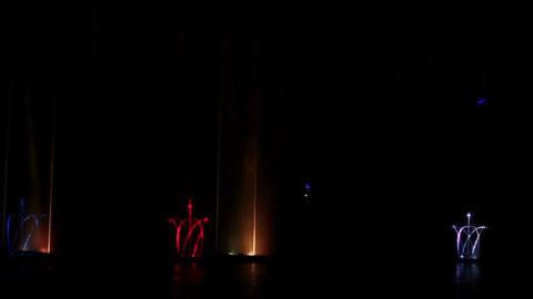 Laser Musical Fountain Roshen 3 Footage