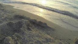 Morning Sea Waves Footage