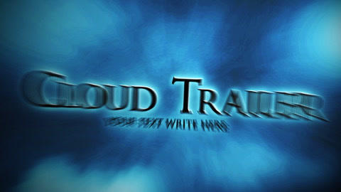 The Cloud Trailer V2 After Effects Template