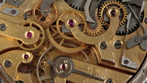 Pocket Watch Movement Chronometer 3 Footage