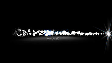 Pieces of paper After Effects Project